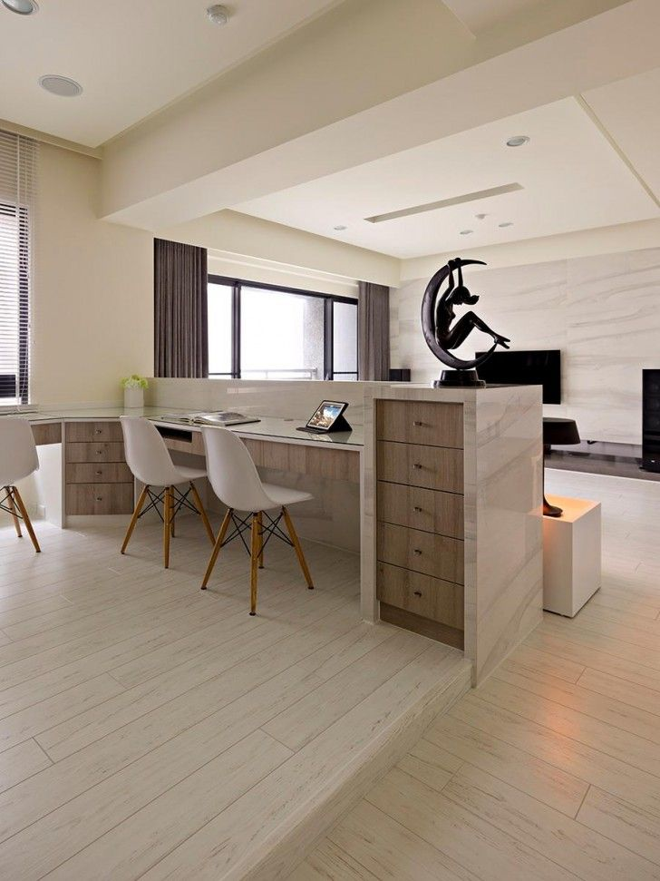 Open plan home with oomph fertility design