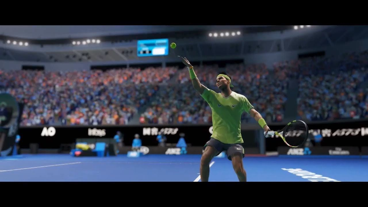 Ao Tennis 2 Reveal Trailer 2020 Game Trailers Indie Movies Tennis