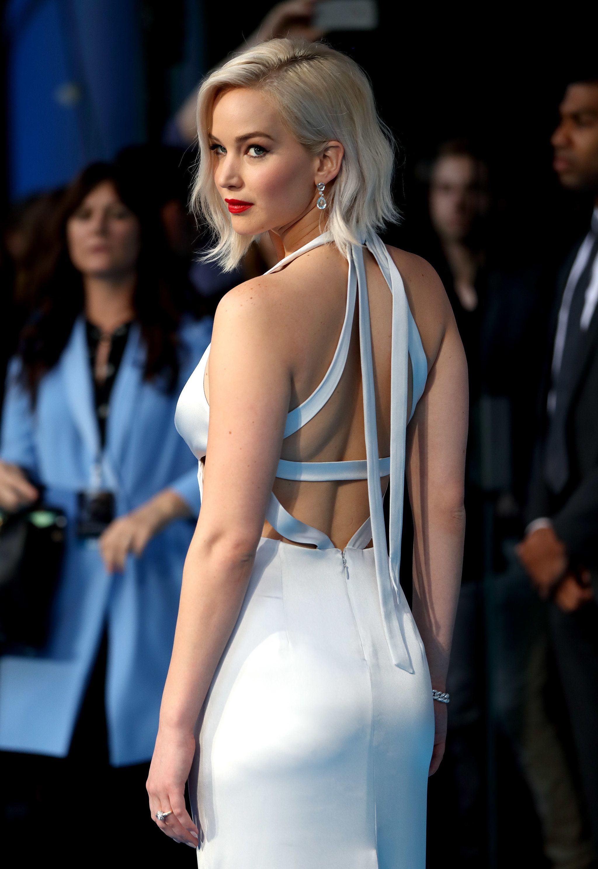 Jennifer Lawrence S White Hot Appearance On The X Men Apocalypse