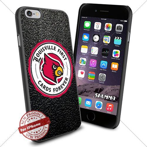 """NCAA-Louisville Cardinals,iPhone 6 4.7"""" Case Cover Protector for iPhone 6 TPU Rubber Case Black SHUMMA http://www.amazon.com/dp/B012WZI016/ref=cm_sw_r_pi_dp_nMwhwb169FW62"""