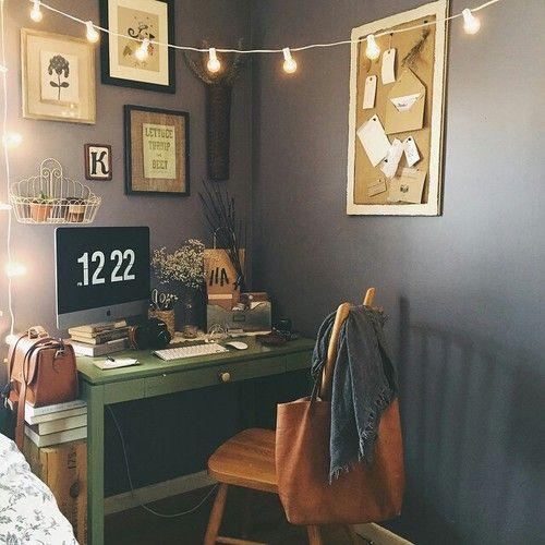 Épinglé par Marie Munoz sur house / rooms  Pinterest Bureau