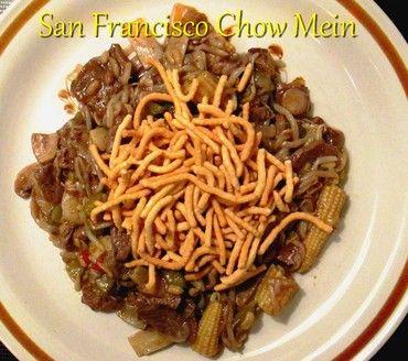 San Francisco Chow Mein http://www.momspantrykitchen.com/san-francisco-chow-mein.html