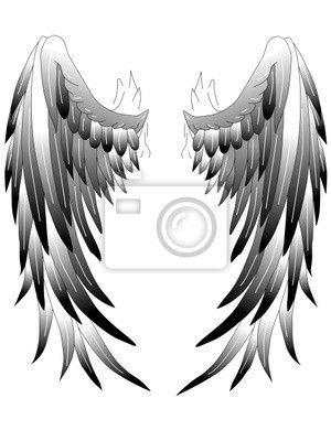 Skrzydła Anioła Rysunek Szukaj W Google Skrzydła