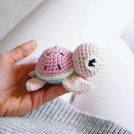 Schildkröte häkeln // Handschmeichler // PDF #muñecosdeganchillo