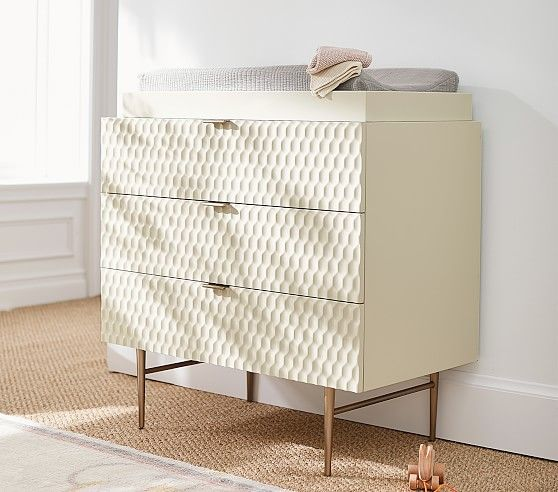West Elm X Pbk Audrey 3 Drawer Changing Table Nursery Furniture