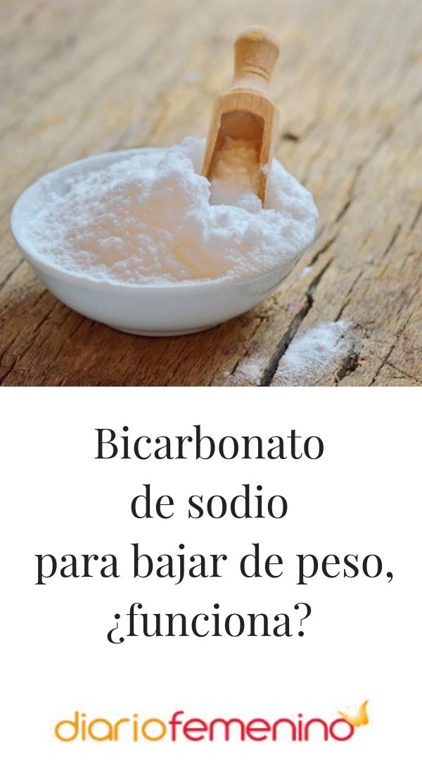 bicarbonato de sodio ayuda a bajar de peso