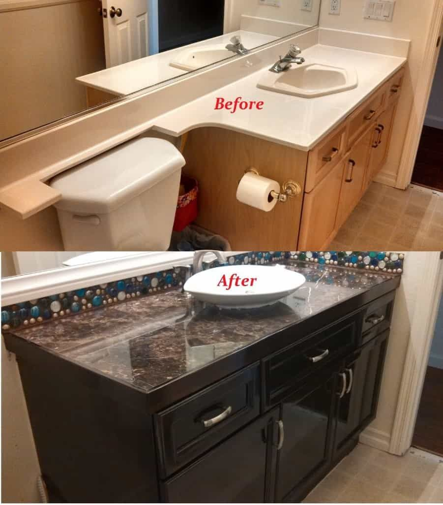 10 Bathroom Makeover Ideas For People With Limited Space