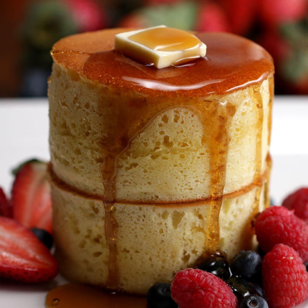 Fluffy Japanese Pancakes Recipe by Tasty