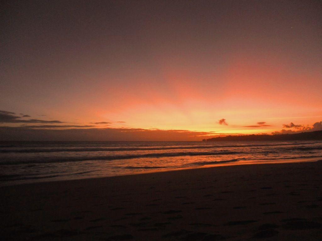 Sunset In Sawarna 2 Indah Banget Pemandangan Alam Ciptaan Tuhan Pemandangan Alam Indonesia