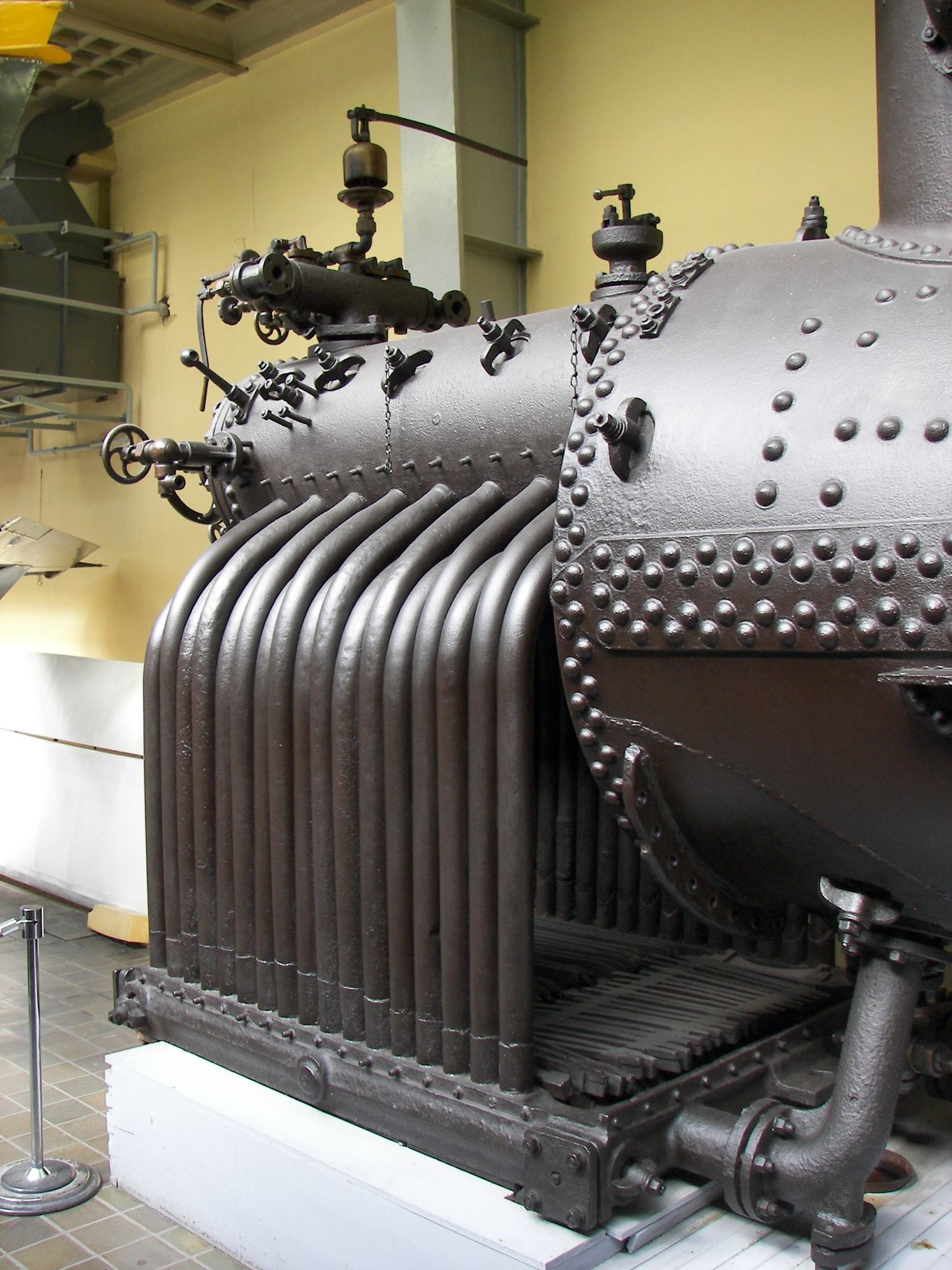 Firebox without brickwork Boiler, Steam boiler