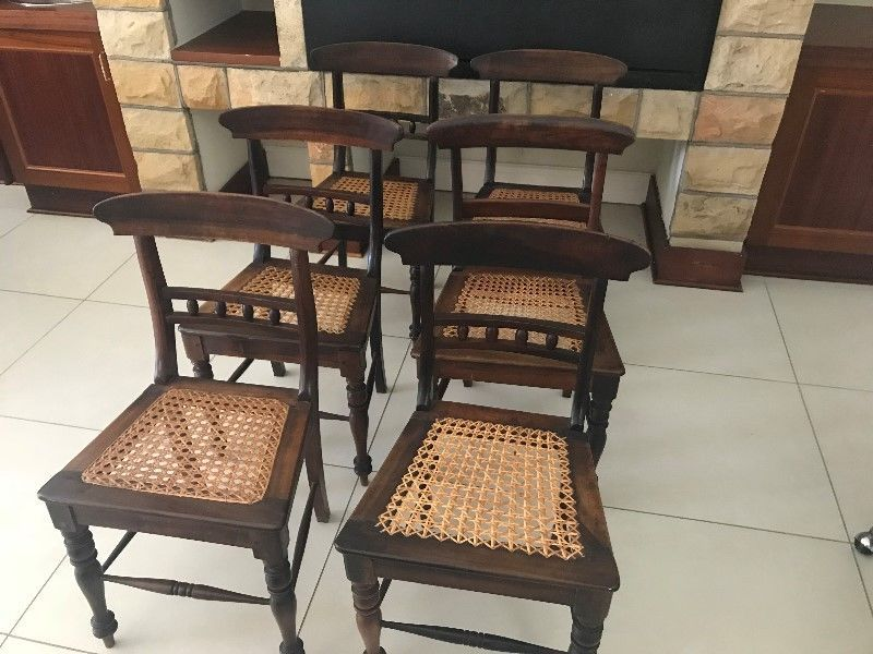Antique Stinkwood Riempie Chairs Bloemfontein Gumtree