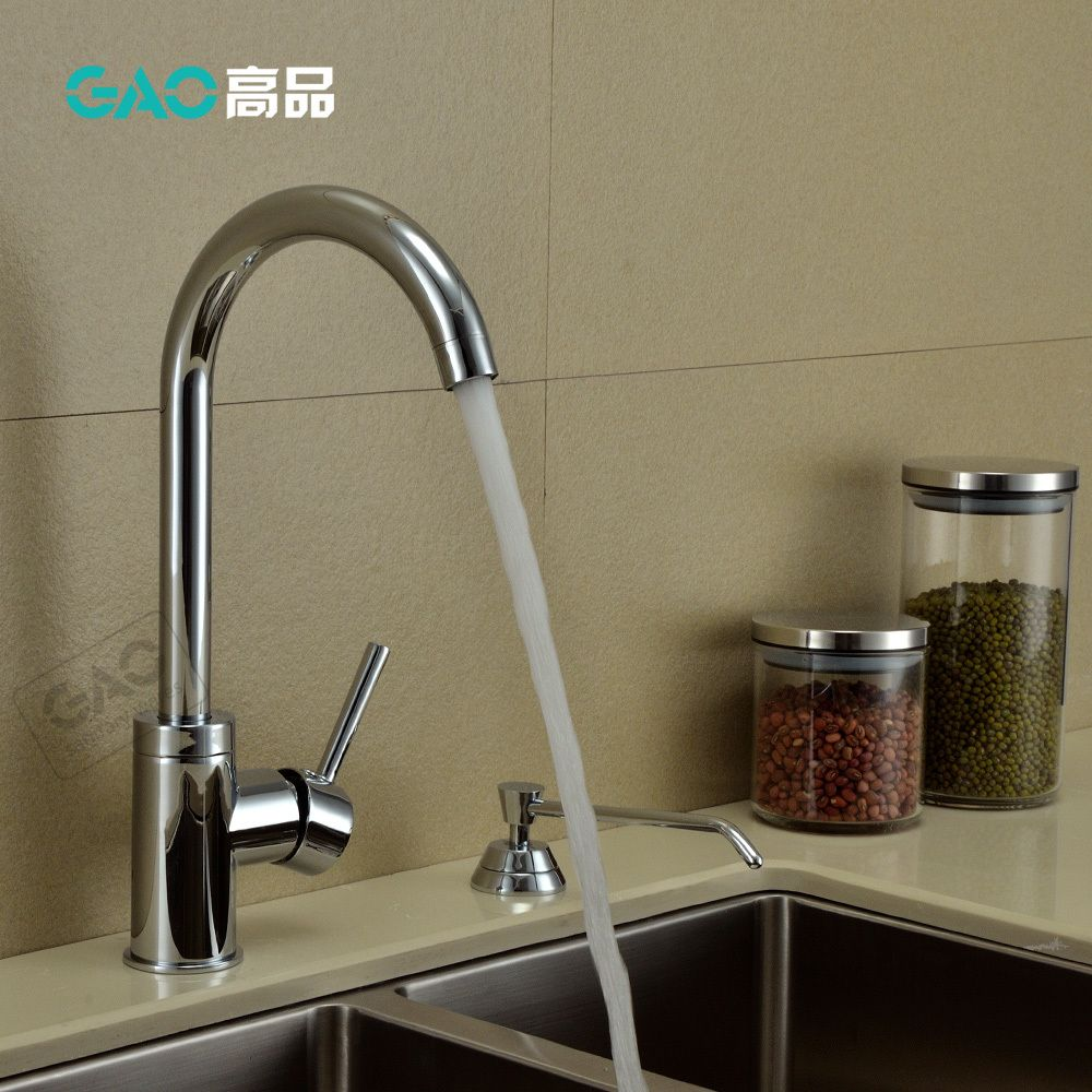 Free Shipping 360 Degree Rotating Chromed Kitchen Faucet,Hot And ...