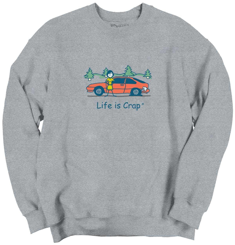 Flat tire sweatshirt funny sweatshirts and products