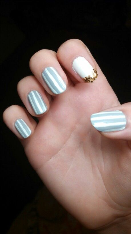 Mint & white glitter tips # acrylic nails (With images)   French acrylic nails, Acrylic nail