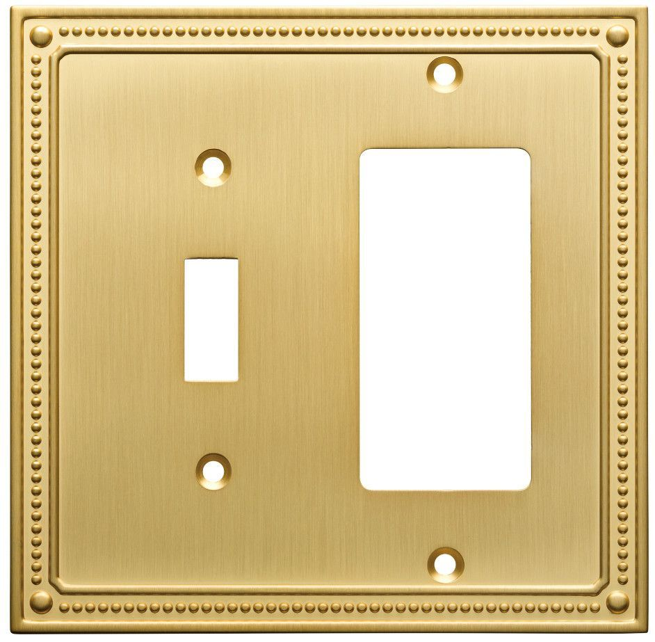 Classic Beaded Single Switch Decorator Wall Plate | Products ...