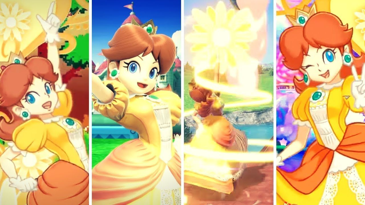 Some Daisy Gameplay For Super Smash Bros Ultimate Those Are Parts Of Videos From Nintendo Of Spain Enjoy Wearedaisy Princess Daisy Super Smash Bros Daisy