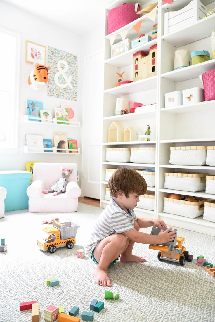 Photo of P & K  |  A Shared Toddler Big Kid Room — iron & twine