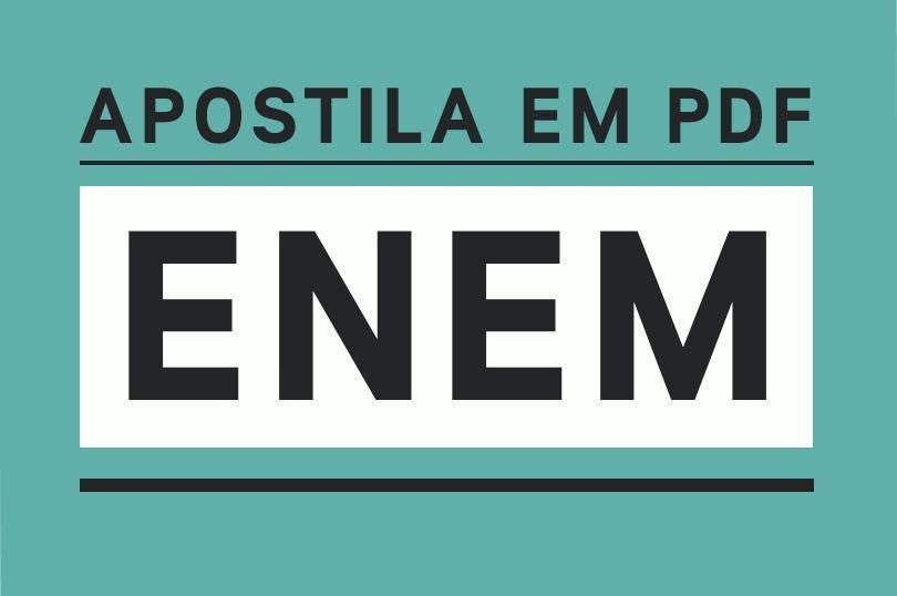 Apostila Enem 2019 Pdf Download Gratis Estudos Para O Enem