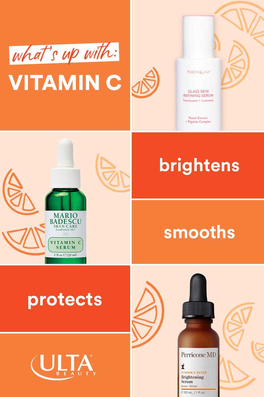 Benefits of vitamin C in 2020 Beauty vitamins, Glass