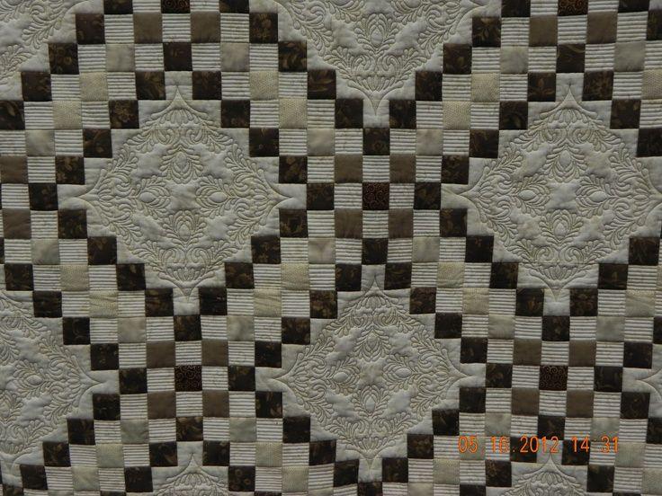 Irish Latte By Gail Eberle Triple Irish Chain Pattern