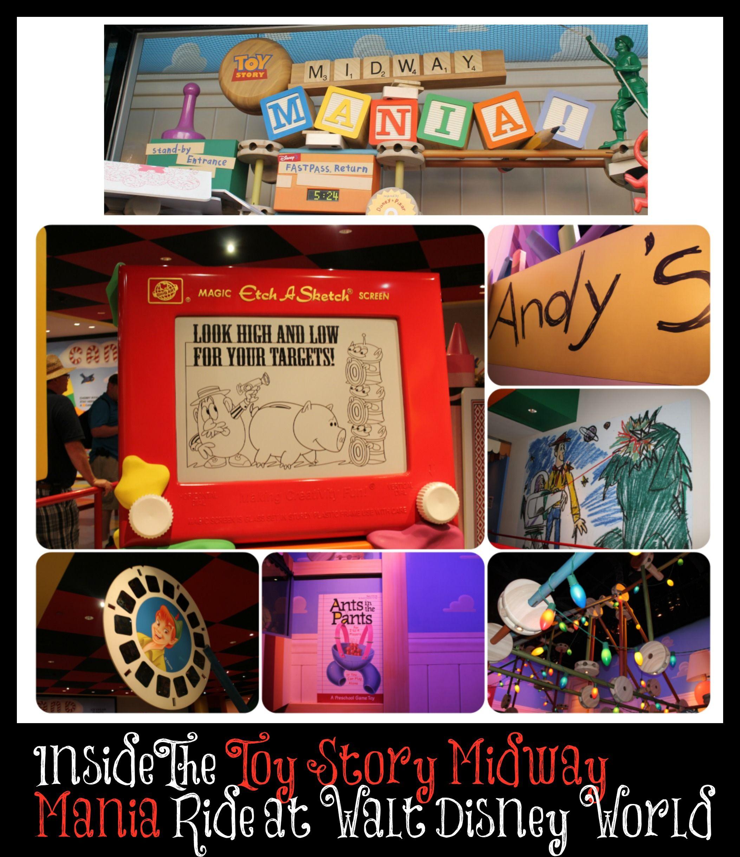 Toy Story Midway Mania Ride at Walt Disney World in Hollywood Studios #WaltDisneyWorld #DisneyWorld