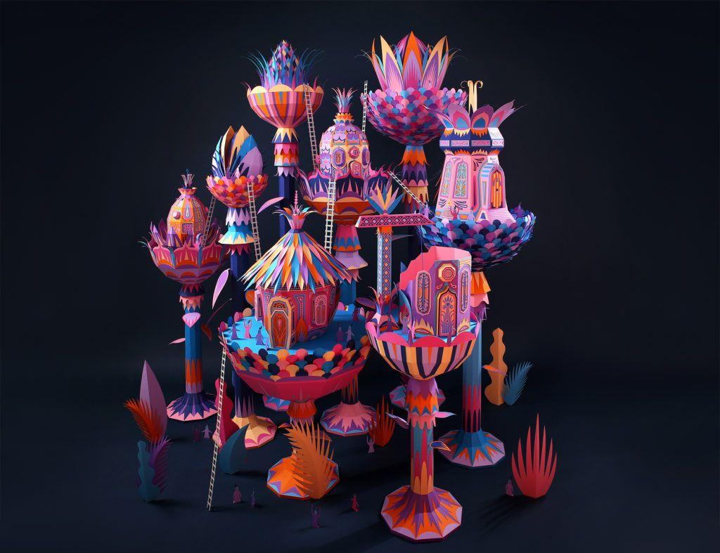 Papierkunst von ZIM und Zou | Kunst & Design aus Papier | Pinterest ...