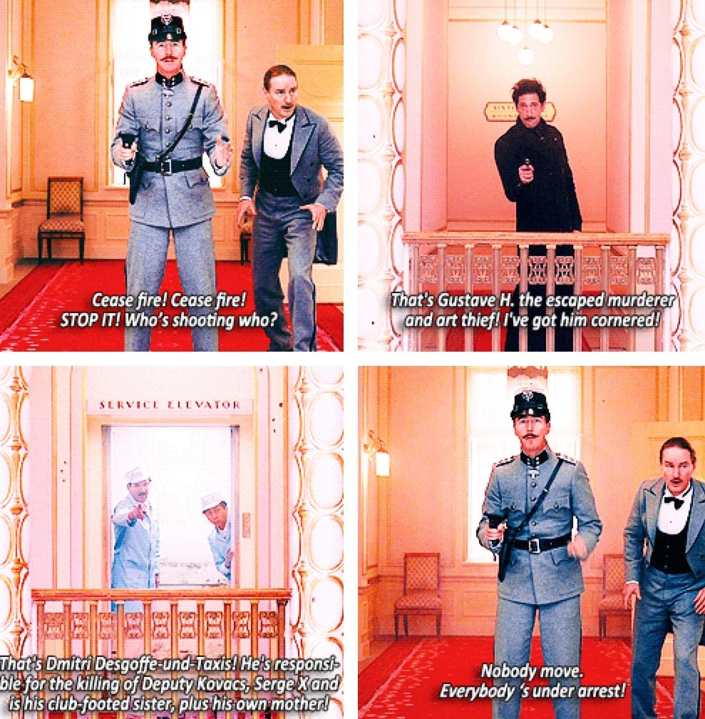 Grand Budapest Hotel Quotes The Grand Budapest Hotel  A Filmwes Anderson  Pinterest