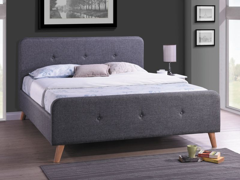 Lozko Malmo Furniture Bedroom Decor Loft Style