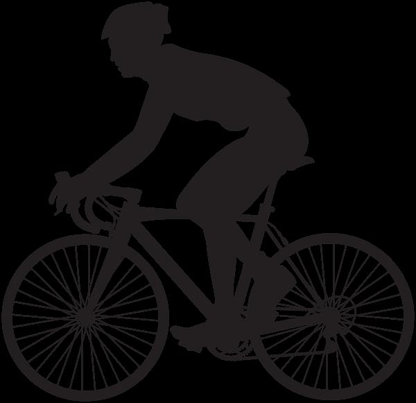 Cyclist Silhouette Png Clip Art Image Bike Silhouette Silhouette Png Bike Artwork