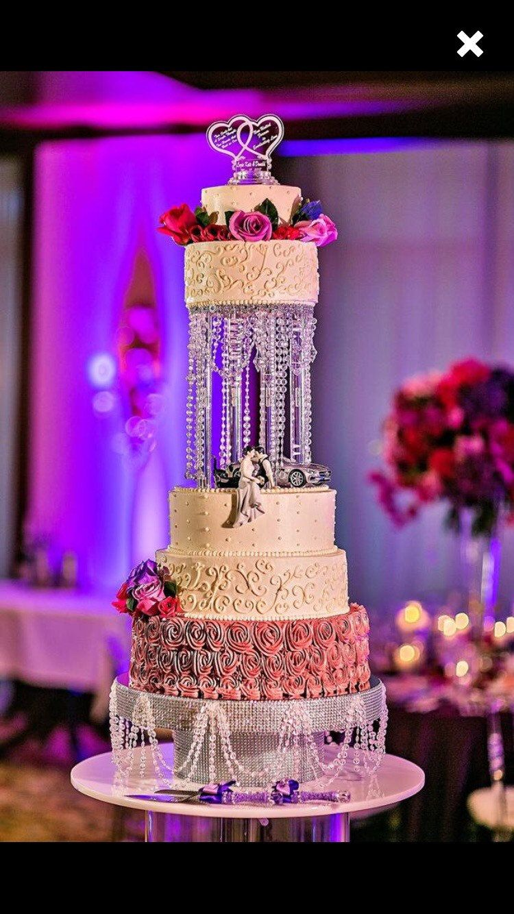 Eventsonbudget wedding party gear pinterest crystal cake stand