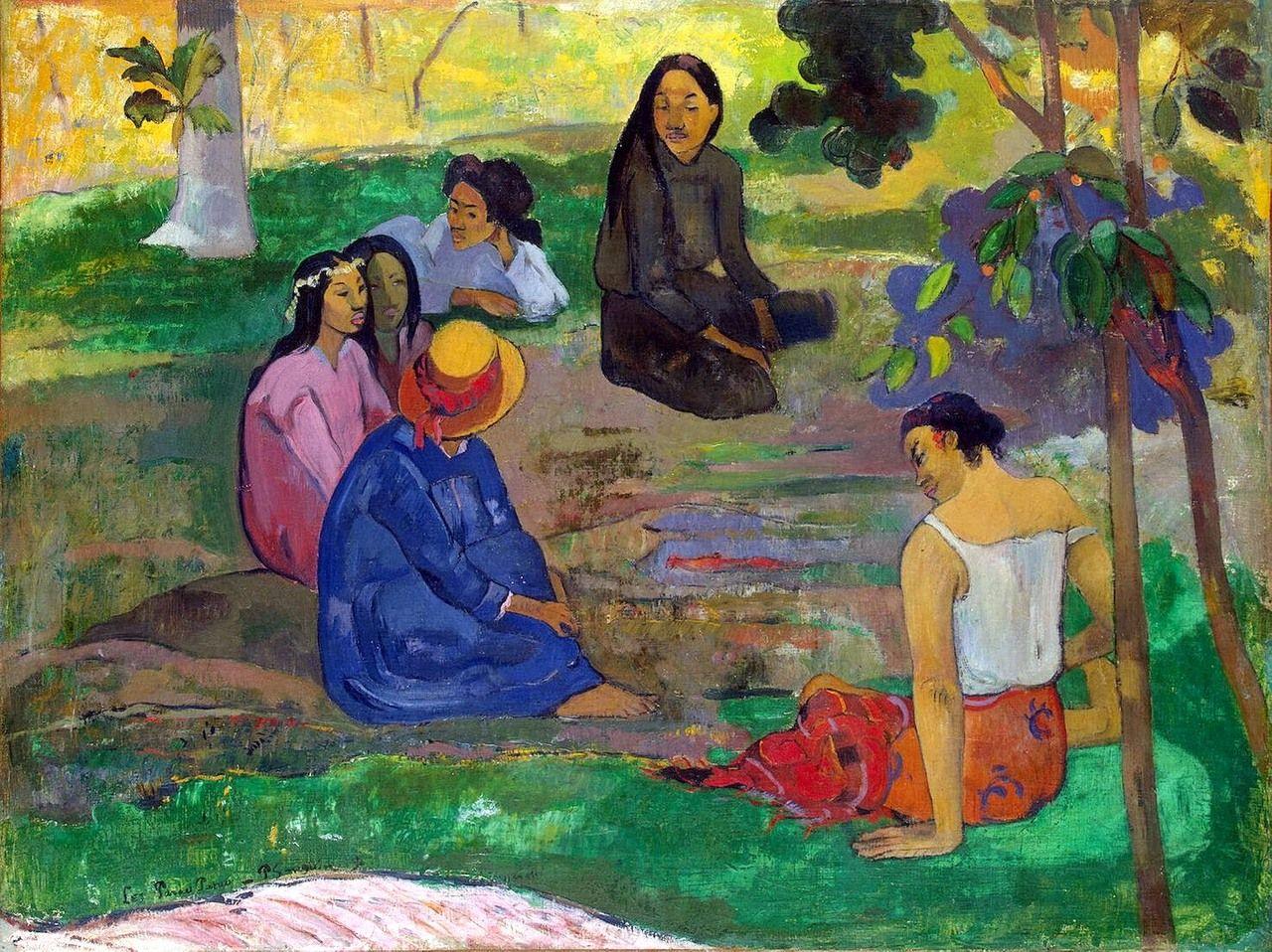 Les Parau Parauby Paul Gauguin | Paul Gauguin | Pinterest