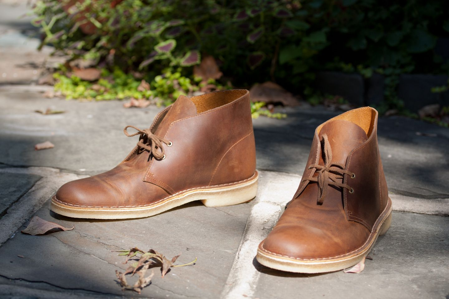 cleaning clarks desert boots