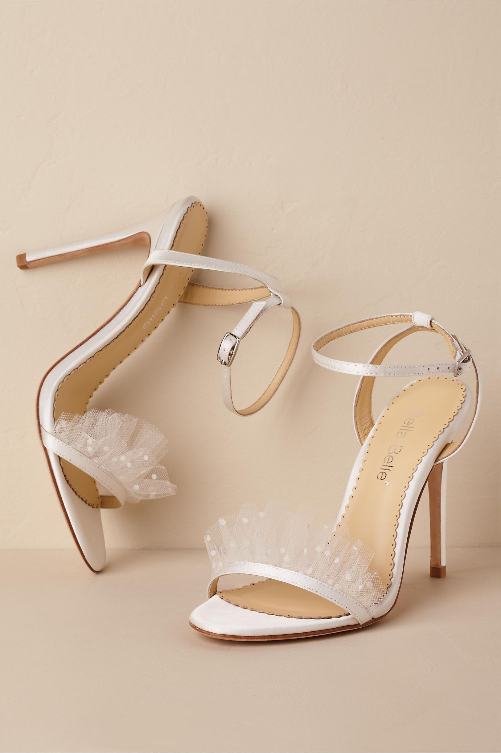 ec54284ea7b ... wedding shoes and more! BHLDN s Bella Belle Bella Belle Bridget Heels  in Ivory
