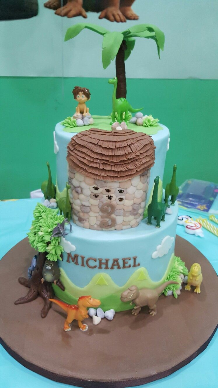 The Good Dinosaur Cake birthday party ideas Pinterest