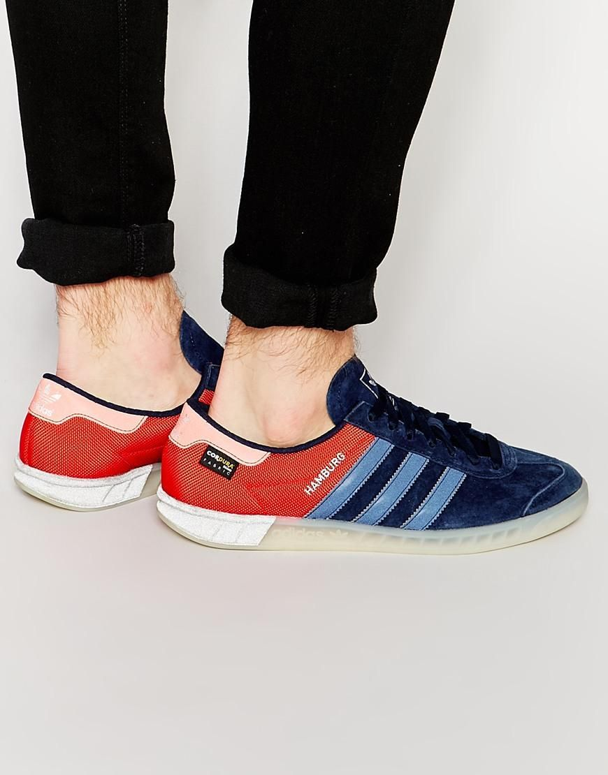 adidas Originals | adidas Originals Hamburg Sneakers S75504 at ASOS