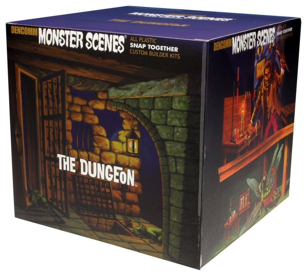 The Dungeon Monster Scenes Diorama Model Kit Model kit