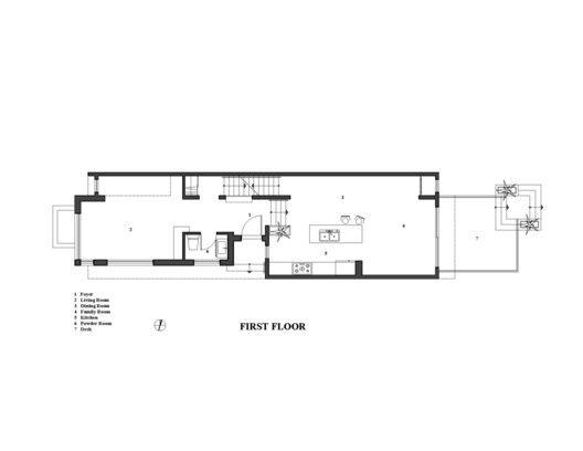 Galería de La Casa Lineal   Green Dot Architects - 12 House