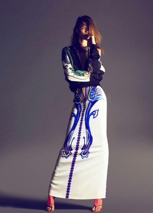 takaakik:    Kasia Struss by Nico for Harper's Bazaar Spain February 2012