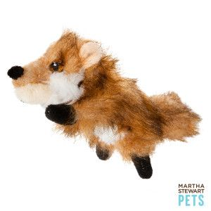 Martha Stewart Pets Mini Fox Dog Toy Toys Petsmart Fox Dog