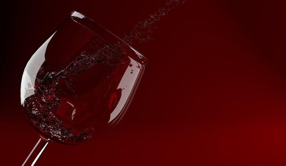 vermelho, vidro, vidro Vetor