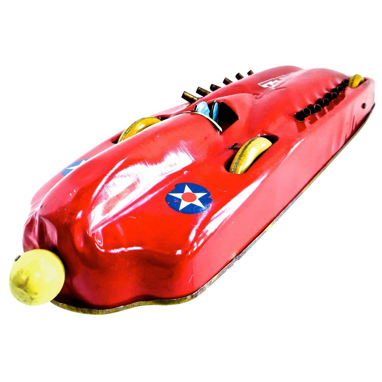 """Red Streak"" Racing Car by Buffalo Toy Company, circa 1928"