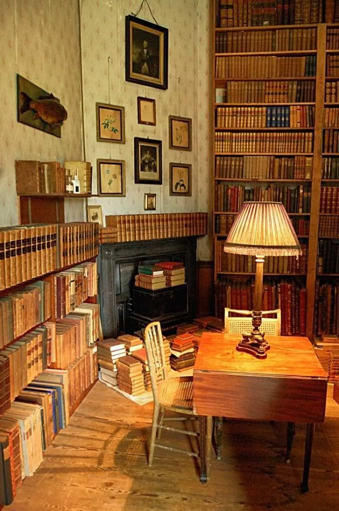 Beautiful Home Library Rooms: Calke Abbey, Derbyshire – Reading Room