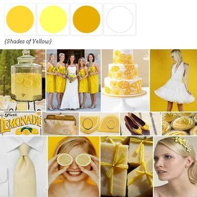 awesome wedding color scheme website