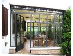 Prezzi verande, veranda in ferro, verandine, giardini d\'inverno ...