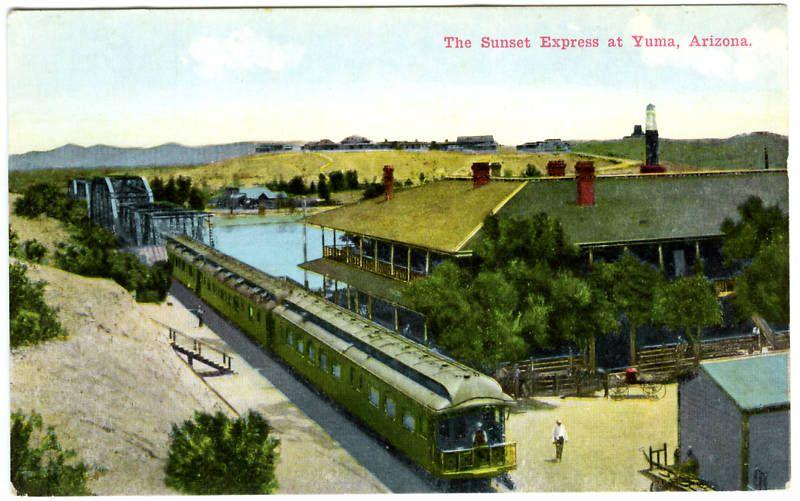 Greetings From Yuma Arizona Main Street Yuma Arizona Yuma Arizona History