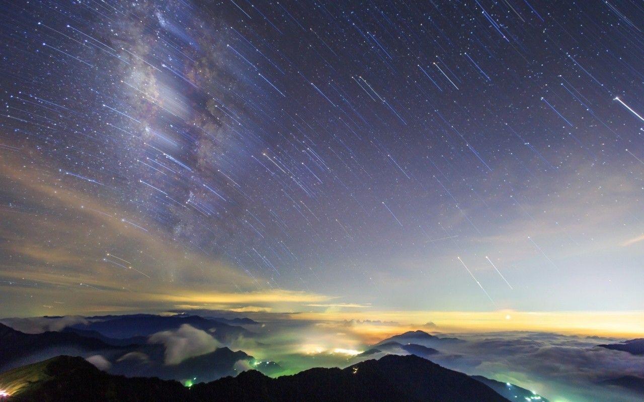 Night Stars Wallpapers Background Night Sky Stars Nature