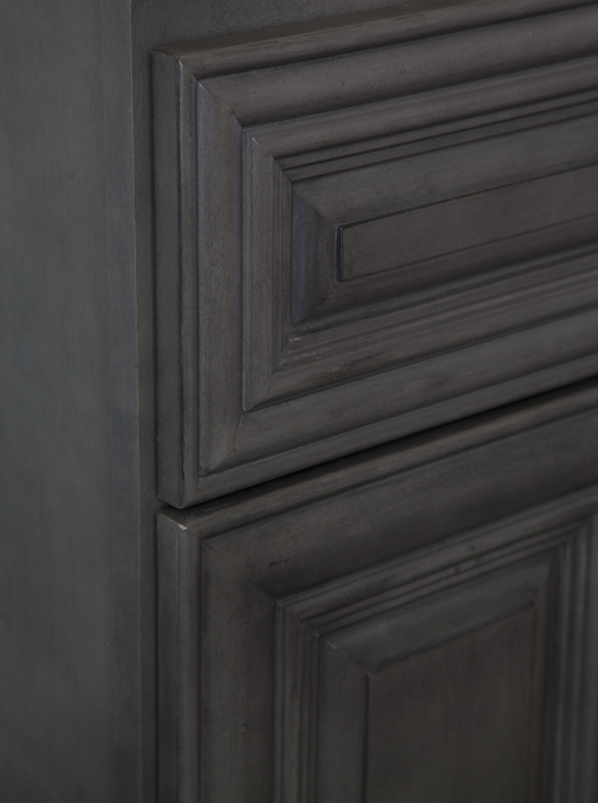 Kensington Kitchen Cabinets: Kensington Mist (Dark Grey) Raised Panel Cabinets For