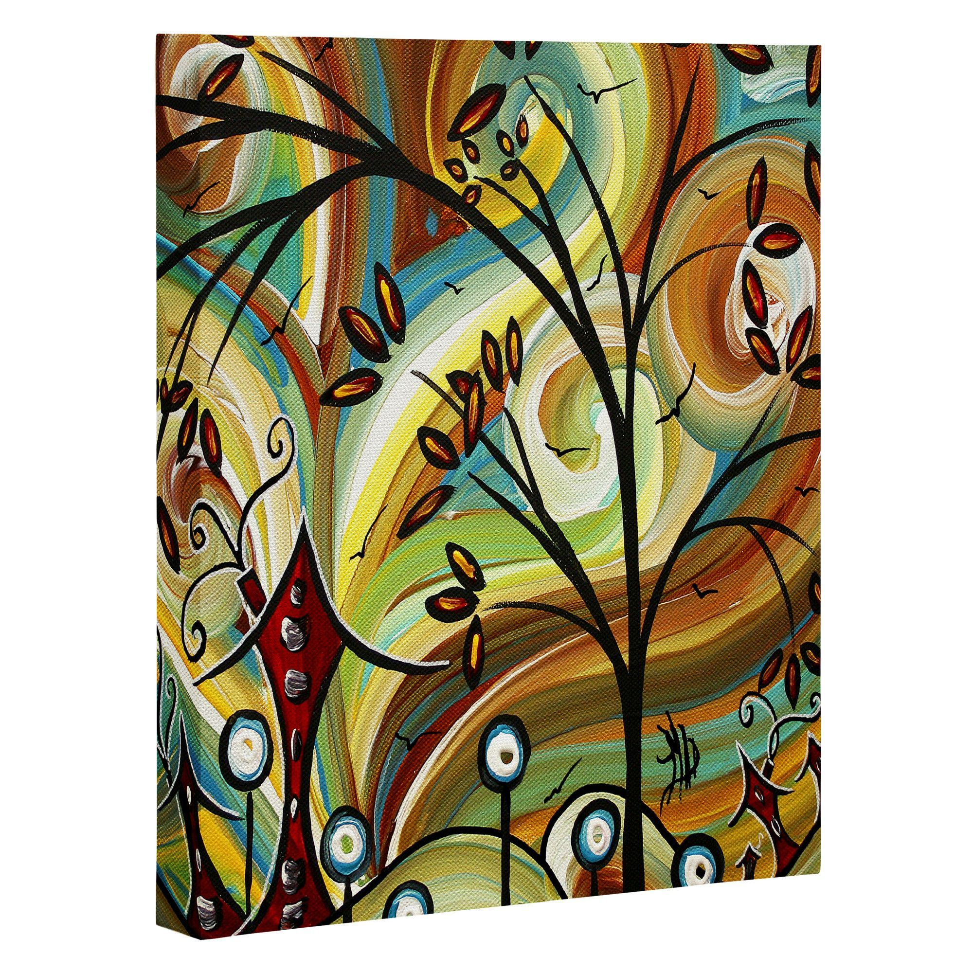 Fall Colors Graphic Art On Wrapped Canvas