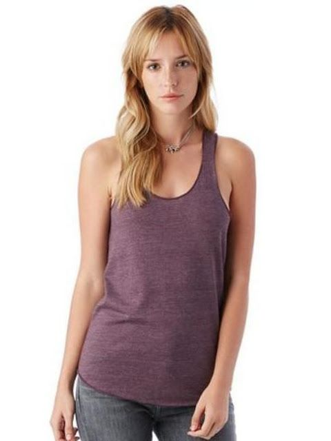 Frugal Alternative Apparel Keeper Vintage Jersey Tank Top Clothing, Shoes & Accessories
