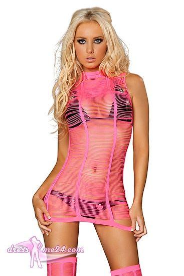 Besuche uns gern auch auf dressme24.com ;-) Netzkleid American Diva - No.2. Dies ist ein ärmelloses Netzkleid der besonderen Art. Edel schmiegt sich das weiche Material um Euren Körper. Lässt sich auch gut mit den dazu passenden Beinstulpen kombinieren. Einheitsgröße passend für Gr.34-38.  #Gogooutfits, #Dancewear, #Minikleider